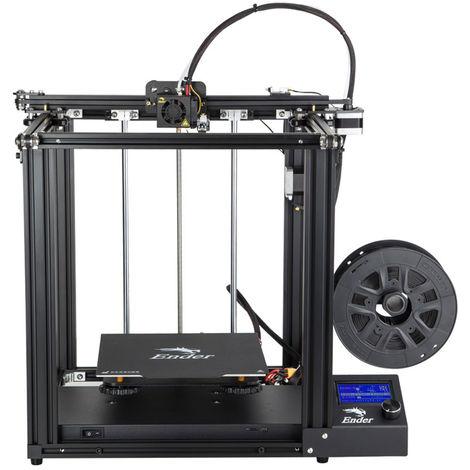 Creality Ender 5 Imprimante 3D Printer DIY Kit Wood/ABS/TPU/PLA 220x220x300mm FR