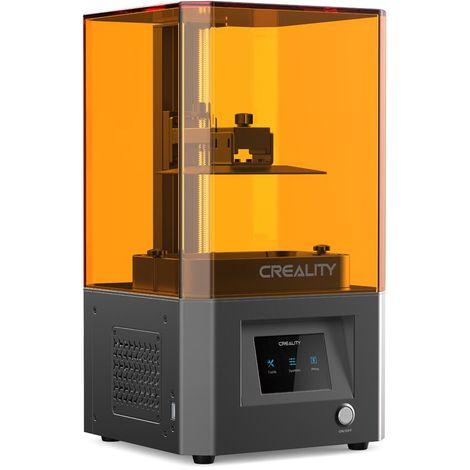 Creality ID-002R Imprimante 3D en résine LCD 119 * 65 * 160mm Taille d'impression HD 2K LCD LAVENTE