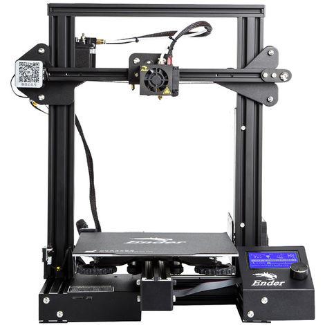 Creality3D Ender - 3 pro, imprimante 3D haute précision, écran LCD à cadre en acier