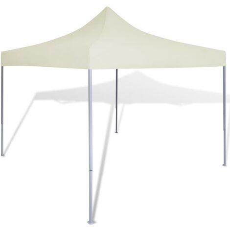Cream Foldable Tent 3 x 3 m