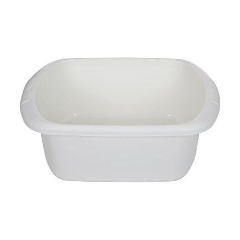 Cream Plastic Rectangle Rectangluar Washing Up Bowl Great Quality Plastic