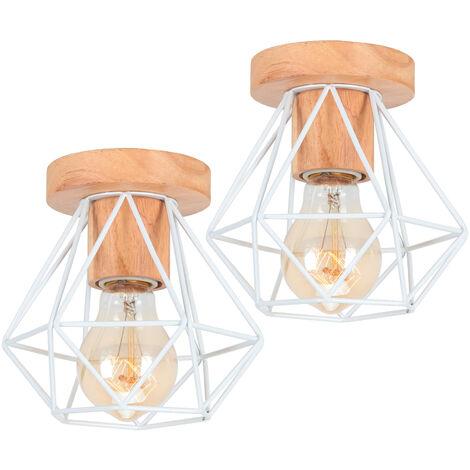 Creative Birdcage Chandelier Gauze Retro Pendant Light 3 Lights Vintage Industrial Hanging Light for Bedroom Cafe Bar Club Black