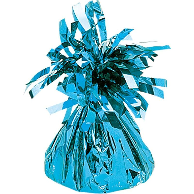 Image of 15 Inch Foil 40th Centrepiece (One Size) (Baby Blue) - Creative Party