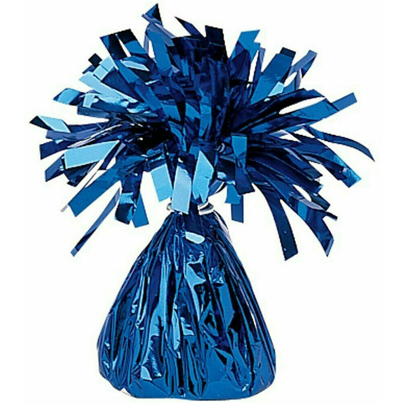 Image of 15 Inch Foil 40th Centrepiece (One Size) (Blue) - Creative Party