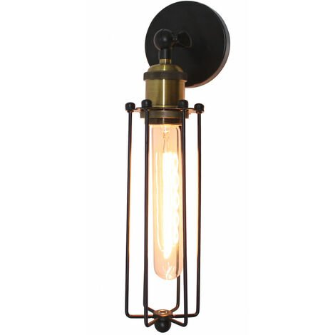 Creative Strip Wall Light Industrial Antique Wall Lamp Retro Vintage Wall Sconce for Cafe Loft Bar Bedroom Office