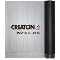 """Creaton """"Duo"""" longlife ND extra Unterdeckbahn mit 2 Klebestreifen 75m² Rolle 270g/m², 7759001000"""