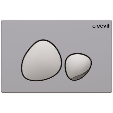 Creavit SPA Design WC Betätigungsplatte für 2-Mengenspülung in verschiedenen Farben