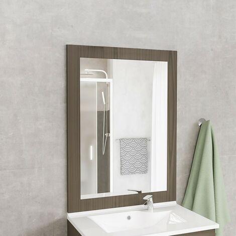 Creazur - Espejo MIRALT decorado viena sin lámpara de pared - 80x109 cm