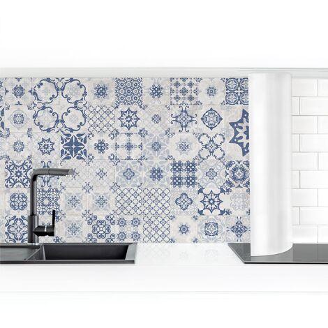 Crédence adhésive - Blue Ceramic Tiles Agadir Dimension: 50x50cm Matériel: Smart