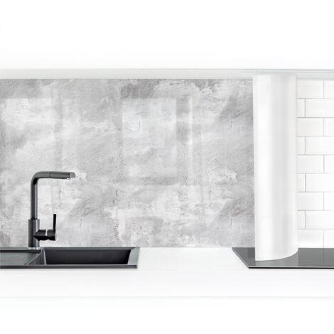 Crédence adhésive - Industrial Concrete Look Dimension: 50x50cm Matériel: Smart