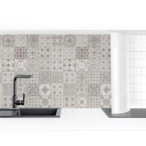 Crédence adhésive - Tile Pattern Coimbra Gray