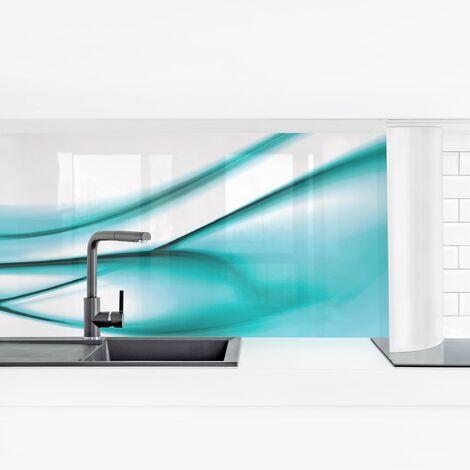 Crédence adhésive - Turquoise Design Dimension: 40x140cm Matériel: Smart
