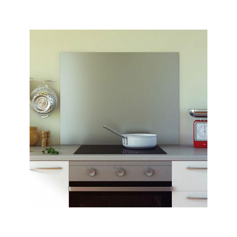 Crédence cuisine fond de hotte inox - Hauteur 70 cm - 60cm de large