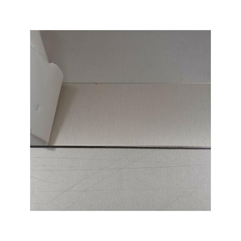 Fond de Hotte / Crédence Anodisé Brossé H 75 cm x L 90 cm de 1,5 mm