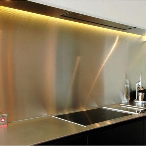 cr dence en inox bross hauteur 75 cm x largeur. Black Bedroom Furniture Sets. Home Design Ideas