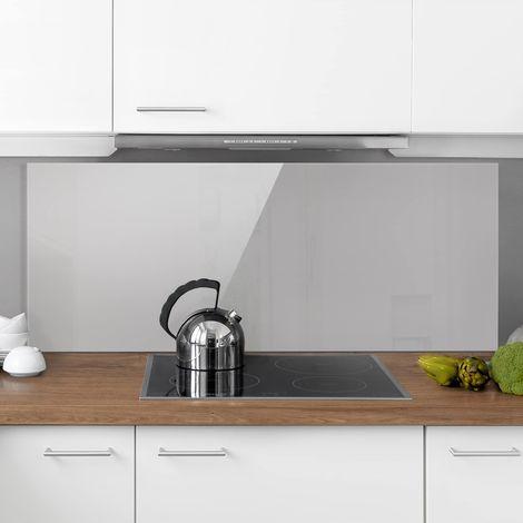 Crédence en verre - Agate Gray - Panorama Dimension: 50cm x 125cm