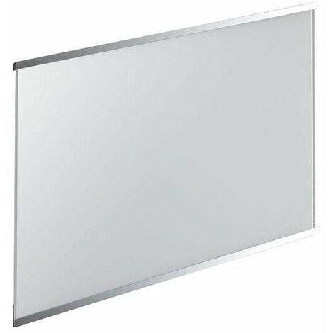 Crédence en verre de 5mm d'épaisseur - Blanc - 80x45cm