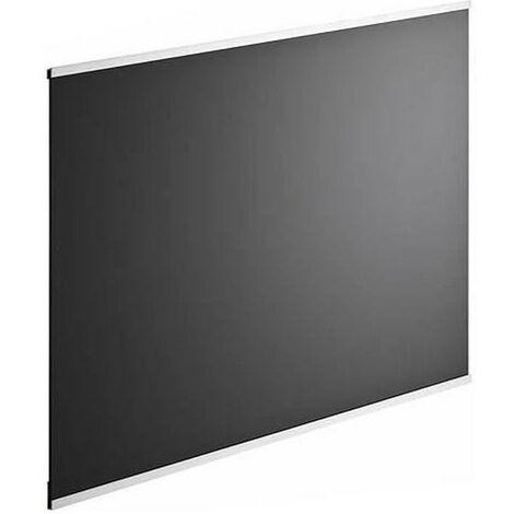 Crédence en verre de 5mm d'épaisseur - Noir - 60x45cm