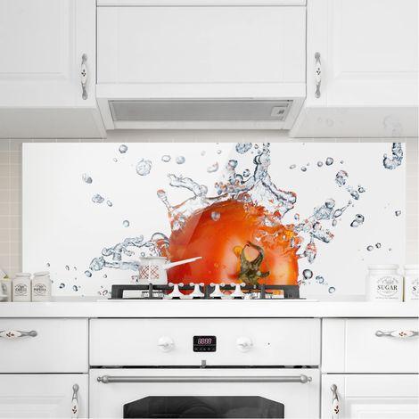 Crédence en verre - Fresh Tomato - Panorama