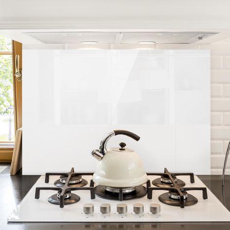 """main image of """"Crédence en verre - Polar White - Paysage 2:3 Dimension: 40cm x 60cm"""""""