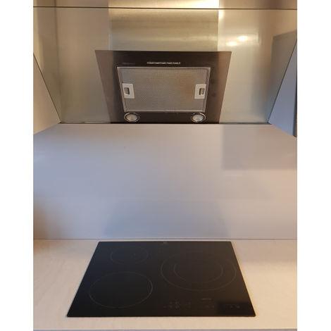 Crédence Inox 1 mm H 40 cm - Plusieurs Largeurs disponibles