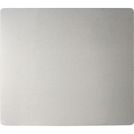 Crédence inox, fond de hotte inox, 56x47 cm