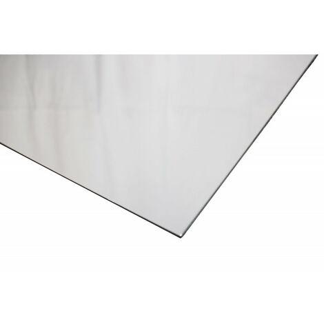 Crédence réversible en blanc satiné / blanc brillant (disponible en 2 m x 1 m et 1 m x 0.5 m)