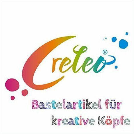 Creleo 790180 pigment pour béton, plâtre silicone artelin craie, etc, 125 g, rouge