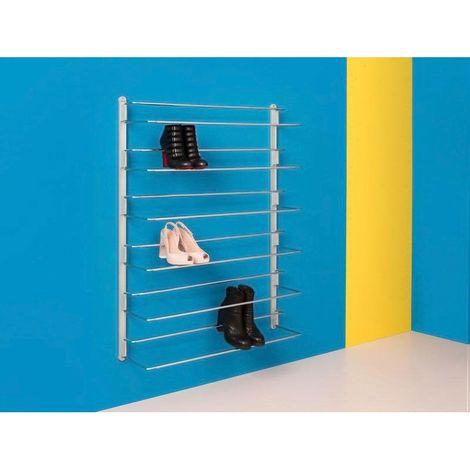 Crémaillères pour range chaussures - Largeur : 30 mm - Matériau : Aluminium - Longueur : 1120 mm - AMBOS