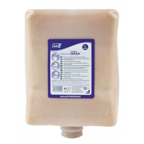 Crème lavante d'atelier pour les mains en cartouche de 4 litres NPW4LTR