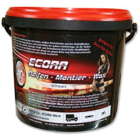 Creme pneu noire ECORA 5kg pour le montage des pneus Generique