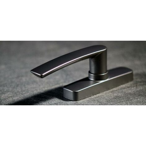 Crémone ajustable FAPIM GEA à une fourche - gris anthracite 7016 mat - 0530BI_MR