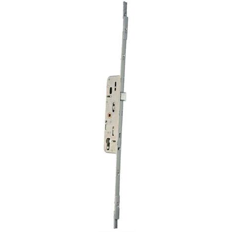 Crémone barillet F28 L.530 mm MAP ajustable haut et bas - 2888