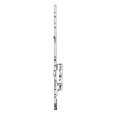 Crémone Europa 40/70 1095 mm FERCO pour porte fermière - 1 galet - Têtière 16 - D360 - 6-33172-02-0-1