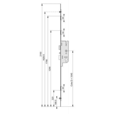 CREMONE GU FERCOMATIC 50/2150