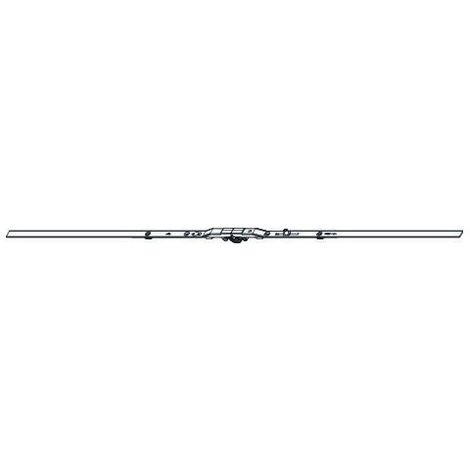 Crémone oscillo-battant ROTO F8mm L.980mm D/variable 401-600 HFF 801/1200 - 1 galet - 623646