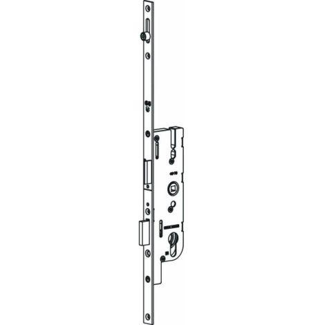 Crémone serrures pour partie basse de porte fermière - Tétière 16 mm - Axe 40 mm - GU-Europa R1