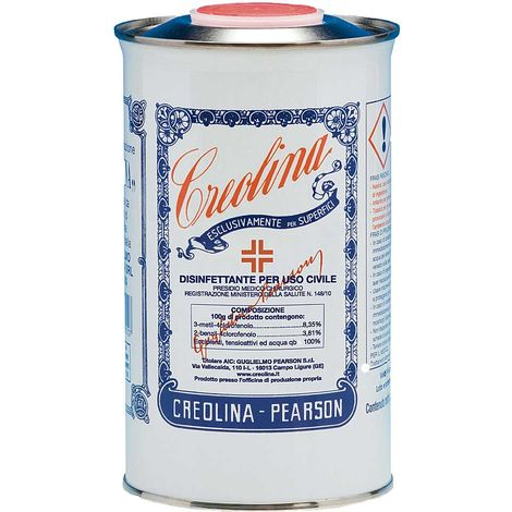 Creolina disinfettante per ambienti contro germi virus e insetti 1000ml G. Pearson