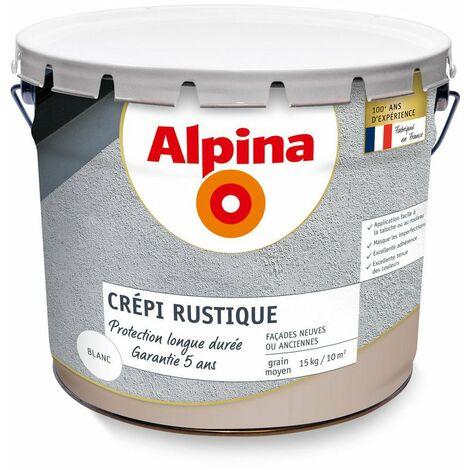 Crépi extérieur Alpina 5 ans 15kg