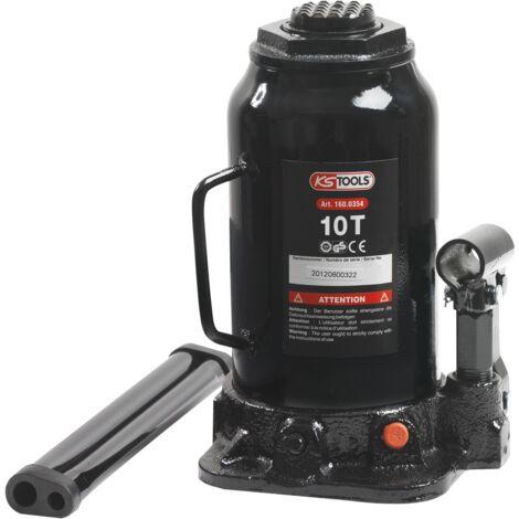 Cric bouteille, capacité 10 Tonnes KS Tools 160.0354