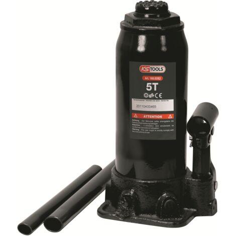 Cric bouteille, capacité 5 Tonnes KS Tools 160.0352