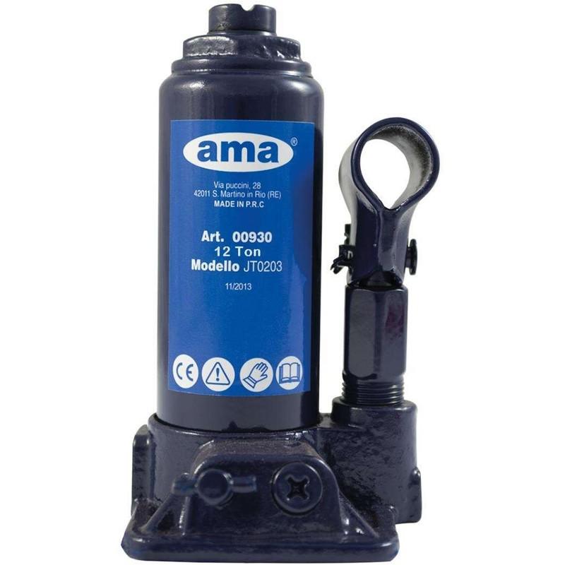 Cric bouteille hydraulique 12 Tonnes AMA