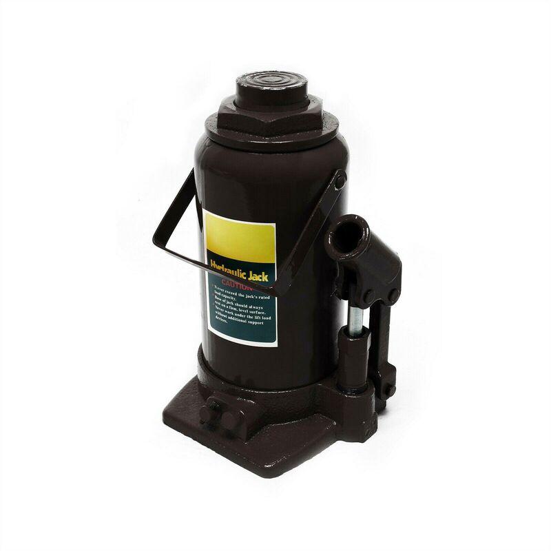Helloshop26 - Cric bouteille hydraulique 12 tonnes vérin levage voiture véhicule outil garage auto