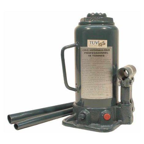 Cric bouteille hydraulique - 15 Tonnes