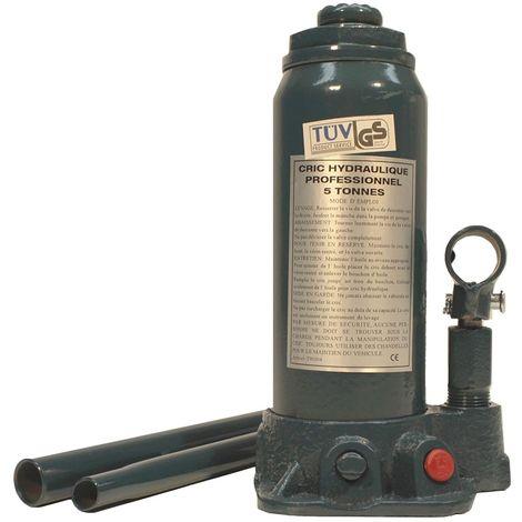 Cric bouteille hydraulique - 5 Tonnes