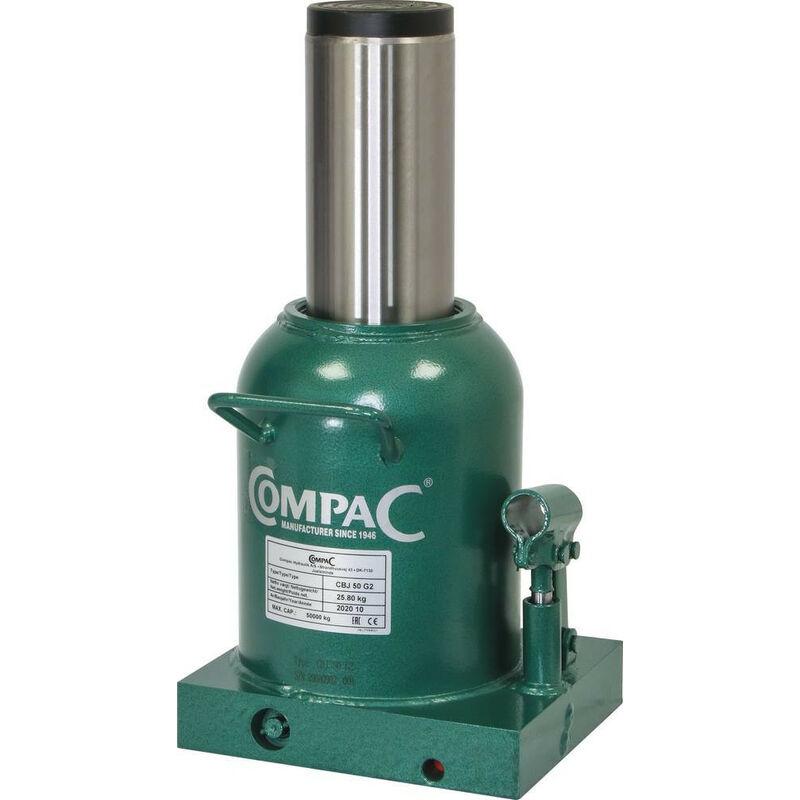 Cric bouteille hydraulique 50 Tonnes Fonte - S15069 - Compac
