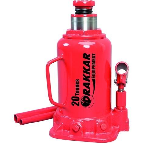 Cric bouteille hydraulique corps en fonte 20 tonnes - S13020