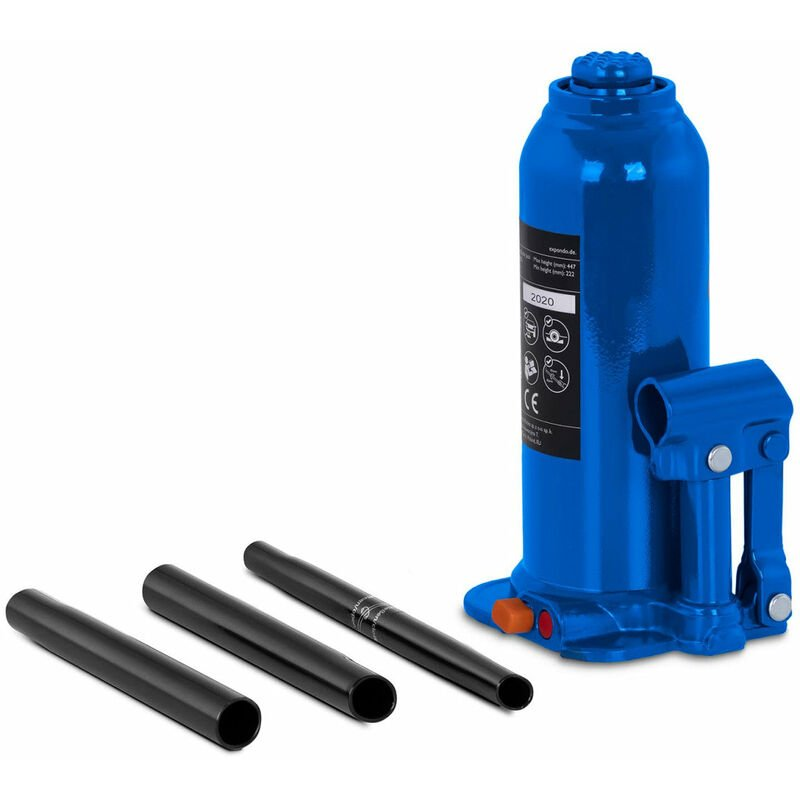 Helloshop26 - Cric bouteille hydraulique pour voiture de levage professionnel atelier 10 tonnes