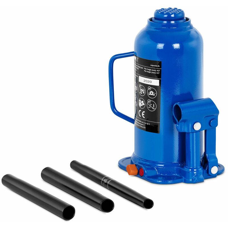 Helloshop26 - Cric bouteille hydraulique pour voiture de levage professionnel atelier 15 tonnes