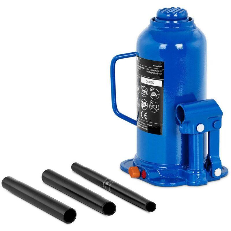 Helloshop26 - Cric bouteille hydraulique pour voiture de levage professionnel atelier 16 tonnes